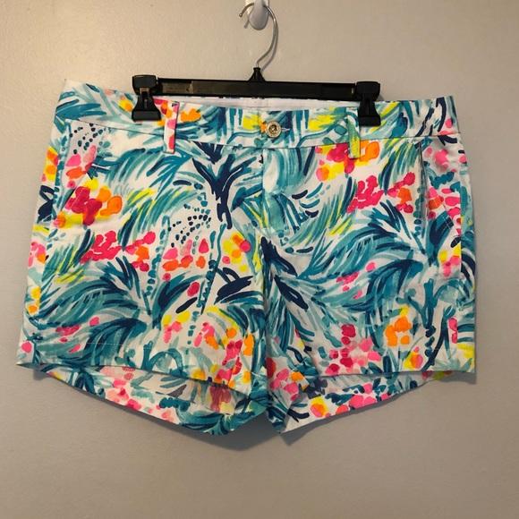 54949c58d468f3 Lilly Pulitzer Shorts | Callahan Tippy Top Size 12 | Poshmark